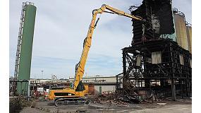 Fotografia de Rendibilitat d'altura en grans treballs de demolici�