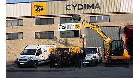 Foto de Cydima, nuevo distribuidor oficial de JCB en Asturias