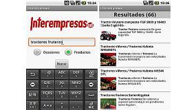 Fotografia de Interempresas presenta la versi� 2.0 de la seva App per iPhone i Android