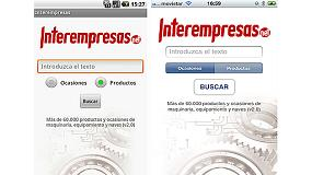 Picture of Interempresas Presents the version 2.0 of his App for iPhone and Android