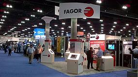 Fotografia de Fagor Automation presenta la seva soluci� aeroespacial del CNC 8065 en la fira Westec 2012