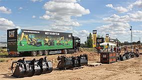 Fotografia de Finanzauto tanca amb �xit el seu Road Xou Caterpillar pel nord d'Espanya