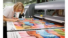 Picture of HP Shows in Viscom Sign the infinite possibilities of his new equipment of big format