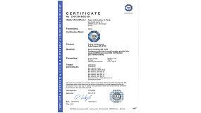 Fotografia de T�V certifica el sistema de regulaci� de Fagor Automation