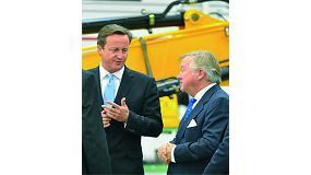 Foto de El primer ministro brit�nico, David Cameron, inaugura la nueva f�brica de JCB en Brasil