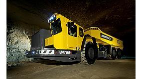 Foto de El cami�n articulado para miner�a subterr�nea m�s grande del mundo