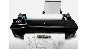 Foto de Soluciones HP con conexi�n a Interent para imprimir en gran formato