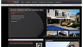 Fotografia de Persax presenta la seva nova pàgina web