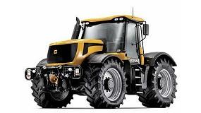 Fotografia de JCB presenta un nou tractor tecnològicament més avançat