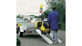 Picture of Wak� Ladders facilitates the tasks of load and download with his economic rampas ABS