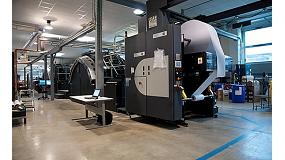 Picture of Rotocouriers Italy invests in a digital presses of injection of ink HP T410
