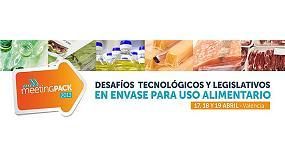 Fotografia de Ainia i Aimplas organitzen MeetingPack per analitzar els desafiaments tecnol�gics i legislatius en env�s pl�stic alimentari