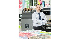 Picture of Interview to �scar Vidal, Regional Business Manager of HP Sign&Display for the south of Europe
