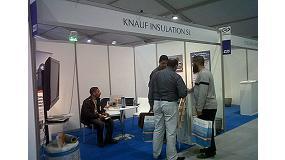Fotografia de Knauf Insulation mostra els seus nous productes d'aïllament industrial en Hassi Messaud