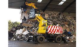 Foto de JCB presenta la primera manipuladora de materiales exclusiva para el sector de residuos