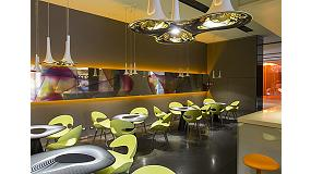 Foto de Milan Hotel Bar cambia de imagen de mano de Karim Rashid usando las tecnolog�as HP Latex