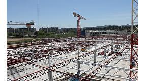 Foto de Estructures, muntatges i soldadures JS participa en la construcci�n de una nueva tienda Conforama