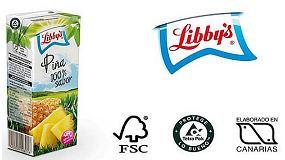 Fotografia de La marca de sucs Libby's celebra el Dia de Can�ries apostant per la sostenibilitat
