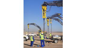 Foto de Los martillos hidr�ulicos HB 2000 de Atlas Copco trabajan en Sud�frica