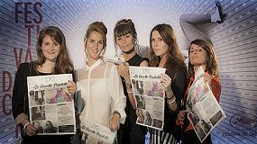 Foto de CSQ utiliza la prensa HP T230 en el Festival de Cine de Cannes