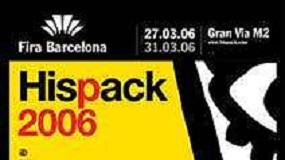 Fotografia de Hispack 2006 ocuparà 51.000 m2 i reunirà a 700 empreses directes