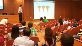 Foto de Aimme presenta los resultados de los proyectos Nanolec y Filtro electroqu�mico en un congreso internacional de electroqu�mica