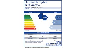 Picture of Reynaers Aluminium and energy efficiency of the window label