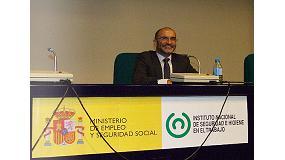 Fotografia de Entrevista a Jos� Mar�a Fern�ndez Parent, delegat territorial d'Aepsal a Madrid