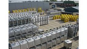 Foto de CCR muestra algunos de sus contenedores m�s representativos en Empack