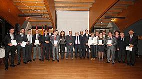 Foto de Avebiom recibe el premio de EnerAgen 2013