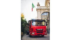 Foto de El Iveco Eurocargo Euro 6, invitado especial en la Embajada de Italia en Madrid