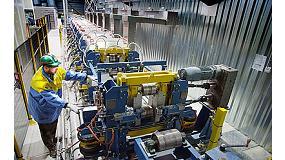 Foto de Tata Steel lanza para el mercado mundial un nuevo ra�l antidesgaste de gran longitud