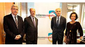Foto de Pedro Larumbe, nuevo presidente de Saborea Espa�a