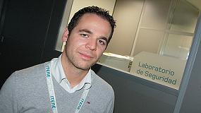 Foto de Entrevista a Carlos Fito, jefe de Proyectos del �rea de Seguridad de Itene