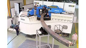 Foto de Amob desarrolla la mayor curvadora de tres rodillos fabricada hasta el momento