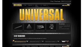 Foto de Nueva p�gina web para los accesorios Universal