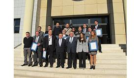 Picture of Delivery of 11 certificates DAP to companies azulejeras