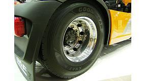 Foto de DAF es el primer fabricante de camiones que calza de serie los Goodyear Kmax y Fuelmax