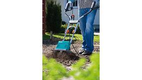 Foto de Preparar la tierra f�cilmente y sin esfuerzo con la motoazada el�ctrica EH 600/36 de Gardena