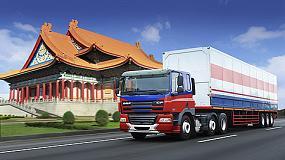 Foto de 2.000 DAF CF montados en Taiw�n