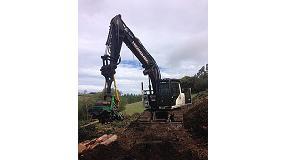 Foto de La excavadora Hidromek HMK220NLC-3 Serie Gen trabaja a m�ximo rendimiento en Galicia