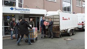Foto de Sumitomo (SHI) Demag env�a ayuda a Rumania