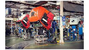 Foto de La planta de Iveco en Madrid mejora su eficiencia cuatro puntos en un a�o