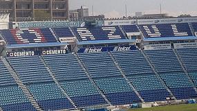Fotografia de Daplast subministra els nous seients de l'Estadi Blau a M�xic
