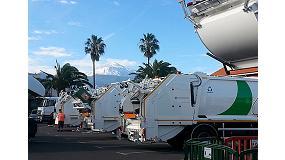 Foto de Urbaser presenta oficialmente a la Mancominidad del Norte de Tenerife sus nuevos Geesinknorba GPM III