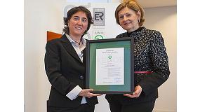 Foto de Acciona Agua recibe el certificado Aenor de Gesti�n de la Energ�a