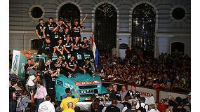Foto de El Iveco de Gerad de Rooy termina segundo el Dakar 2014 a s�lo 3 puntos del ganador