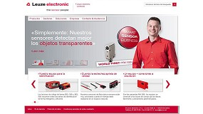 Picture of Leuze Electronic Launches his new web page