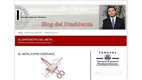 Foto de El presidente de Femeval estrena blog