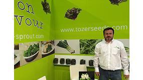 Foto de Tozer Seeds explota en Fruit Logistica toda su apuesta por la I+D